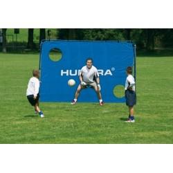 Voetbaldoel 300 x 205 cm voetbalgoal met trainingswand