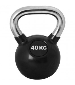 Kettlebell 40 kg Chrome Pro Workout