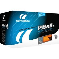 Cornilleau tafeltennisballen P-ball oranje 72 stuks