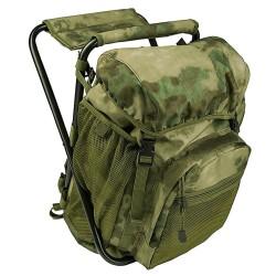 Backpack met kruk 20L FG camo