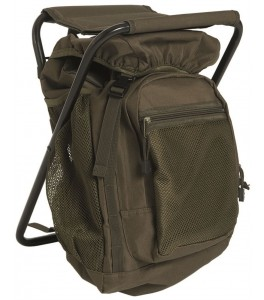 Backpack met kruk 20L Olive Green