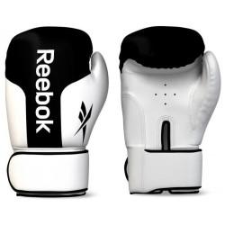 Reebok bokshandschoenen leer zwart/ wit
