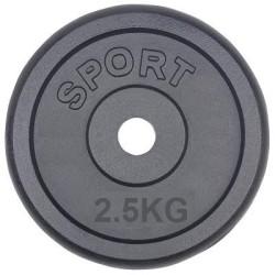 2,5 kg gewichten 30mm gietijzer halterschijven